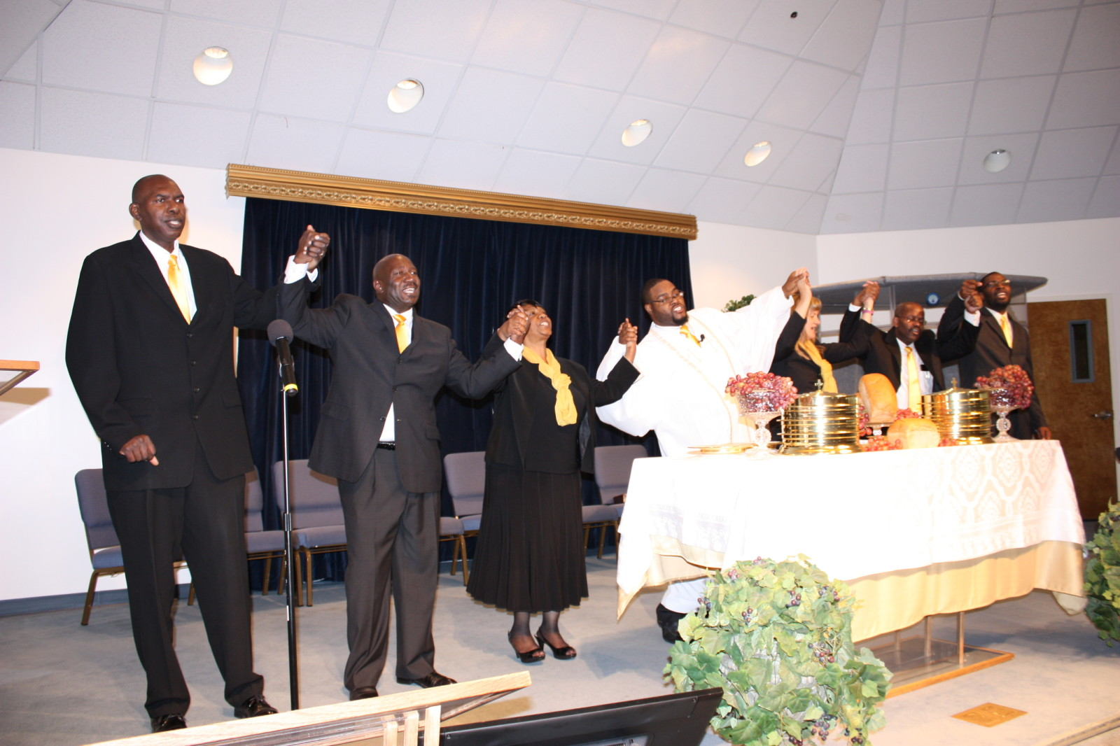 Communion at New Life SDA Church