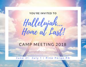 Camp Meeting 2018